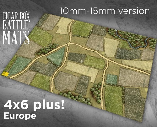 Cbm102 15mm Europe Gaming Battle Mat North Star