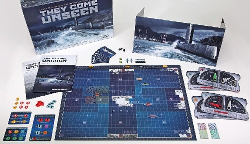They Come Unseen - Submarine Warfare Board Game
