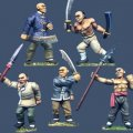 Photo of Tong Warriors w/ Assorted Weapons #1 (PCS 15)