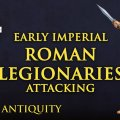 Photo of Early Imperial Roman Legionaries Attacking  (VXA026)