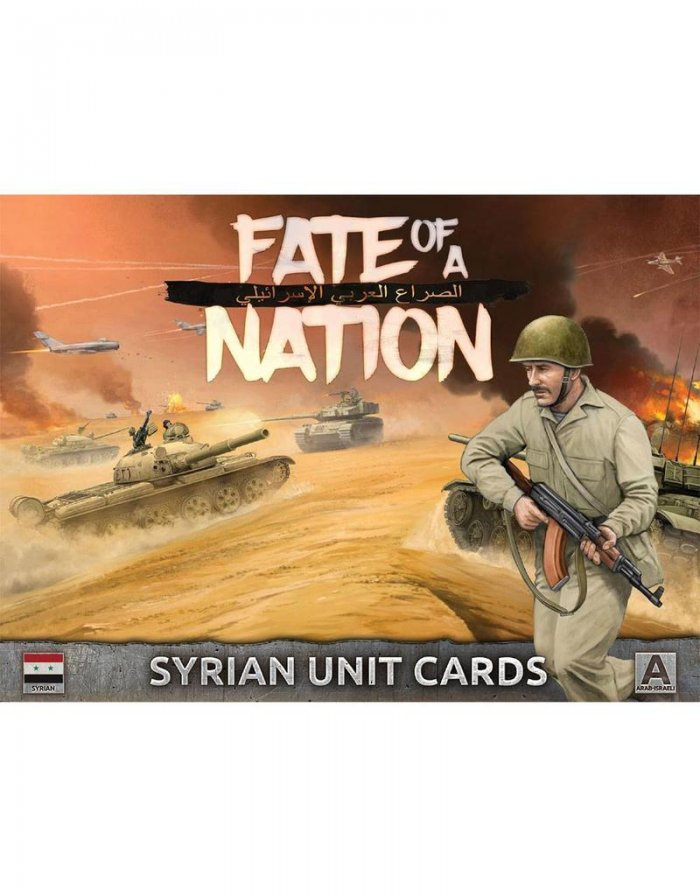 Unit Cards – Syrian Forces in the Middle East