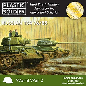 15mm WW2 Russian T34 Tank