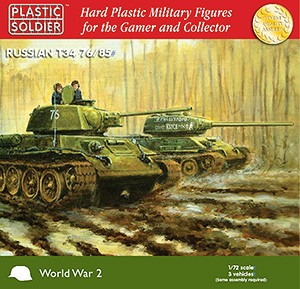 1/72nd Easy Assembly T34 76/85 Tank