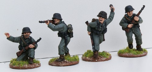 German Riflemen I (1945)