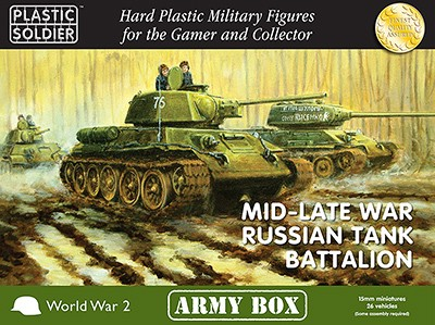 MID/LATE WAR RUSSIAN TANK BATTALION