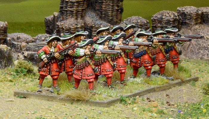 Pikeman's Lament English Musketeer Unit