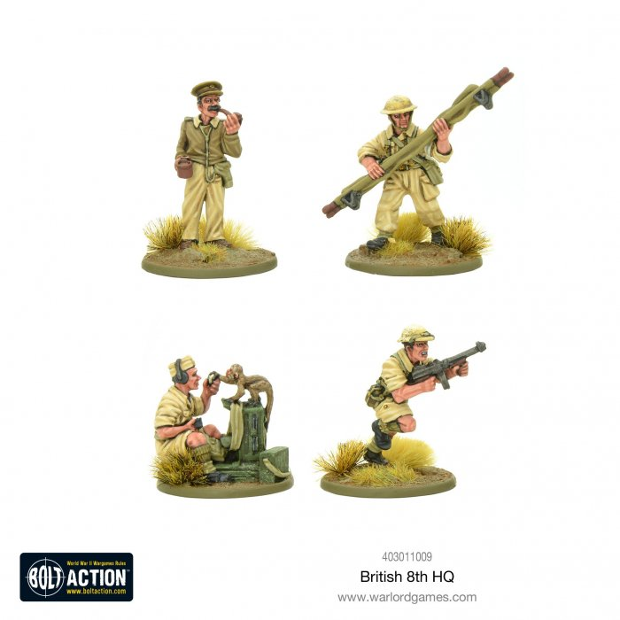 Bolt Action - British 8th Army HQ