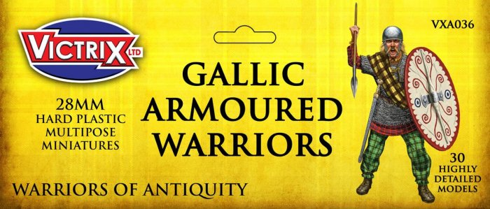 Ancient Gallic Armoured Warriors