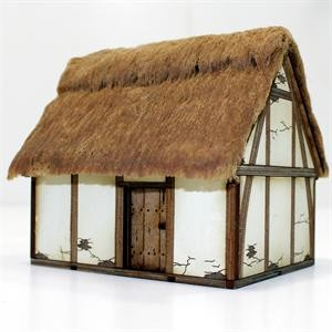 Saxon/Medieval Hovel Pre-Painted