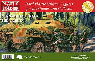 Easy Assembly 1/72nd SdKfz 251/D German Halftrack