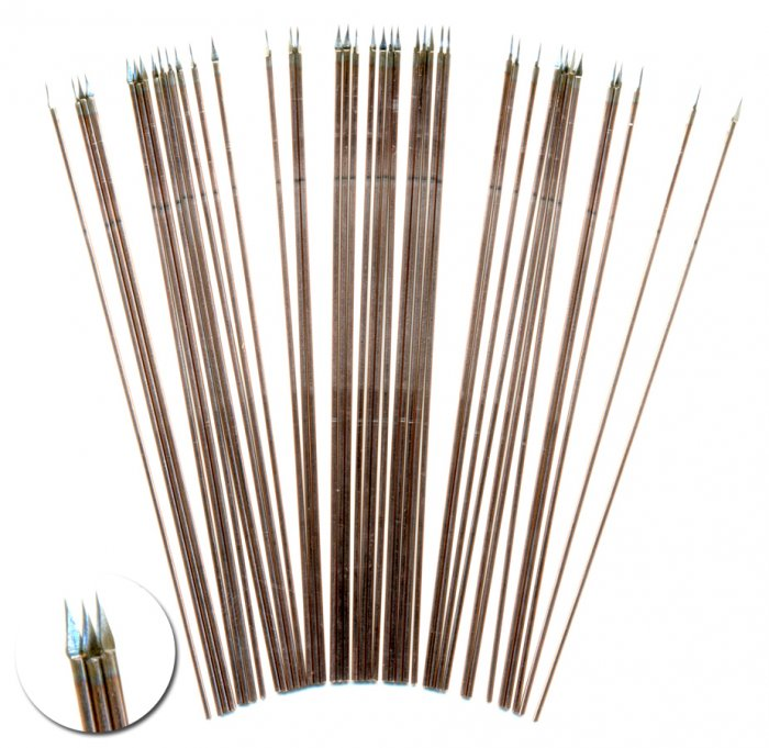 100mm long Wire Spears