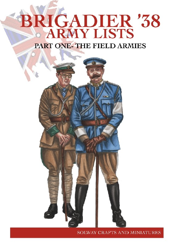 BRIGADIER '38 Army Lists  part one