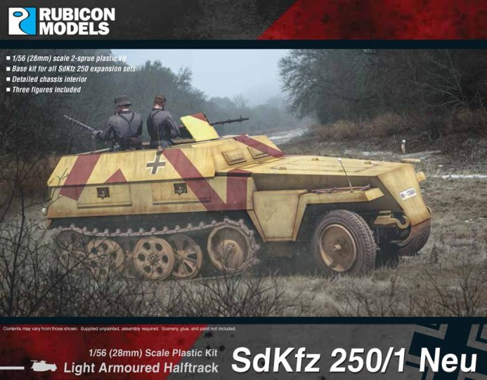 Photo of SdKfz 250/1 Neu   (RU029)
