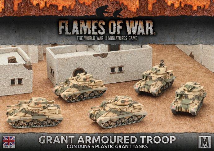 Photo of Desert Rats Grant Armoured Troop  (BBX37)