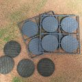 Photo of 60mm Diameter Paved Effect Bases (60 DIA PAVED)