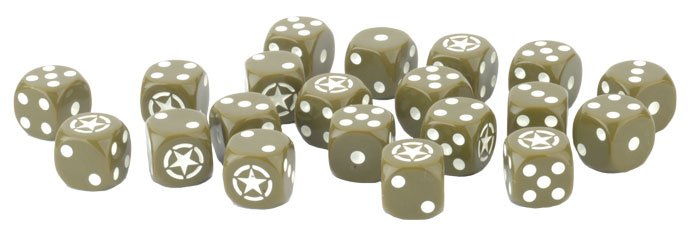 FOW - Late War US Dice Set