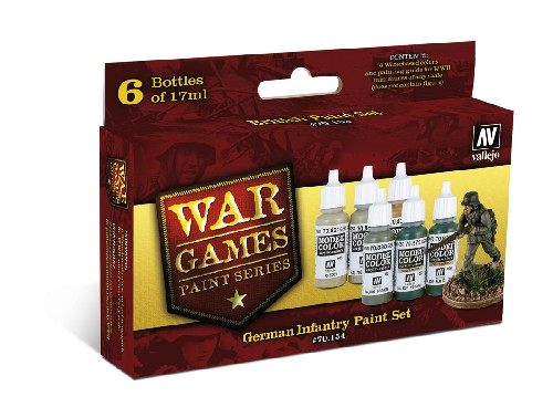 Vallejo WW2 Wargames German Infantry paint set