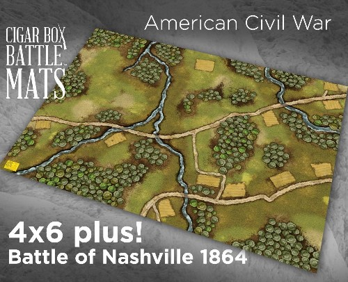 BATTLE OF NASHVILLE GAMING BATTLE MAT