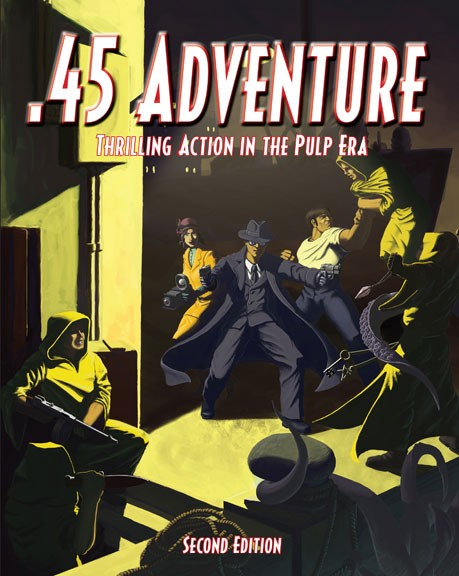 .45 Adventure: Thrilling Action in the Pulp Era