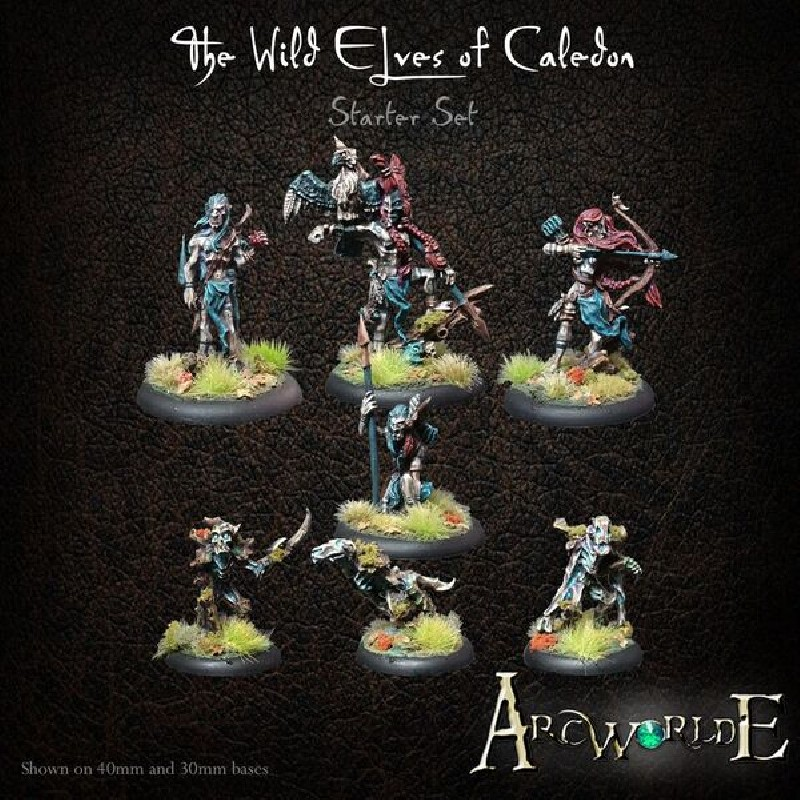 The Wild Elves of Caledon