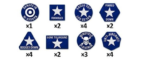 Team Yankee US Token Set (x22)