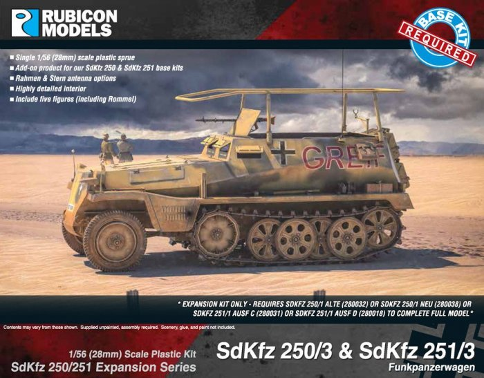Photo of SdKfz 250/251 Expansion - 250/3 & 251/3 (RU030)