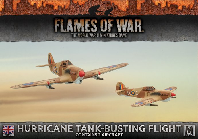 Desert Rats Hurricane Flight (x2)