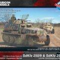 Photo of SdKfz 250/251 Expansion Set - SdKfz 250/9 & 251/23  (RU-280048)