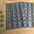 Photo of 20mm Square Paved Effect Plastic Bases (20x20paved)