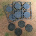 Photo of 50mm Diameter Paved Effect Bases (50 DIA PAVED)