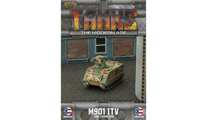 US M901 ITV/ M163 VADS Tank Expansion