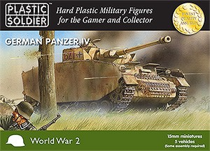 15mm WW2 German Panzer IV Tank