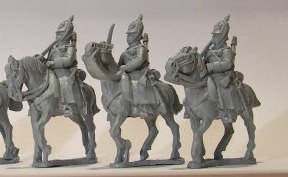 Russian Dragoons wearing Helmets