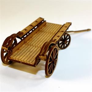 28mm Ox/Flat Bed Wagon