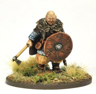 Jarl Sigvaldi & 3 Jomsvikings (inc. Fixed Warlord)