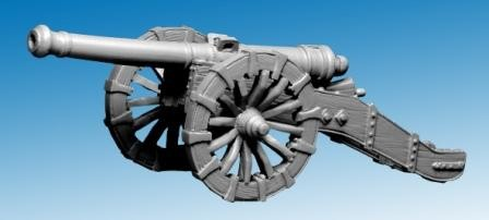 17th Century Big/ Seige Gun