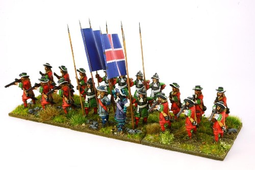 English 1672 Regiment