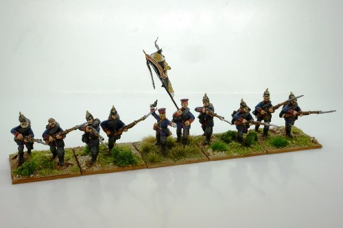 Prussian Infantry Skirmishing