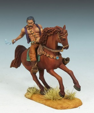 MOUNTED KHAL DROGO