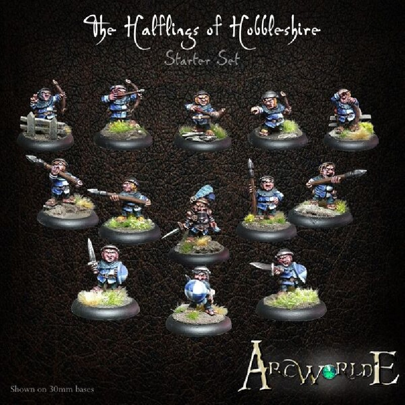 The Halflings of Hobbleshire Starter Set