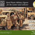 Photo of German Medium Trucks (15mm) (WW2V15026)