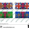 Photo of British 3rd Division Infantry Flags (Sheet 2 of 5) (BRC010 )