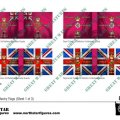 Photo of British  1st Division Infantry Flags (Sheet 1 of 3) (BRC001)