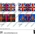 Photo of British 3rd Division Infantry Flags (Sheet 3 of 5) (BRC011)