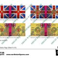 Photo of British 3rd Division Infantry Flags (Sheet 4 of 5 (BRC012)