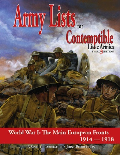 Contemptible Little Armies - Army Lists 1