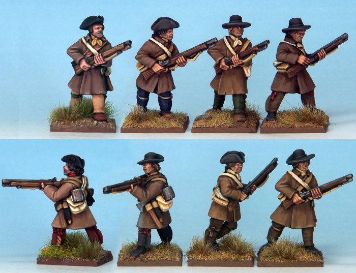 British Regulars in Campaign Dress