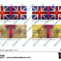Photo of British 2nd Division Infantry Flags (Sheet 1 of 4) (BRC005 )