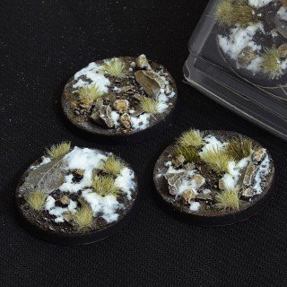 Winter Bases Round 50mm (x3)